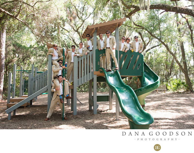 Drummond Park Wedding Photos in Amelia Island at Omni