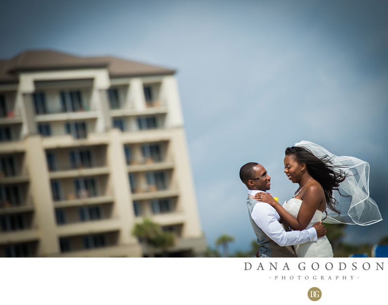 Amelia Island Wedding Photography at Ritz Carlton on ocean