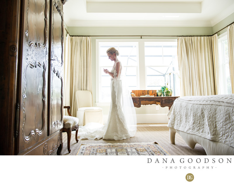 Ponte Vedra Bride Portrait before the wedding