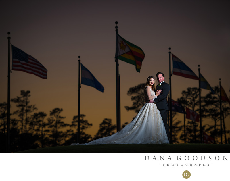 TPC Sawgrass wedding in Ponte Vedra by Dana Goodson
