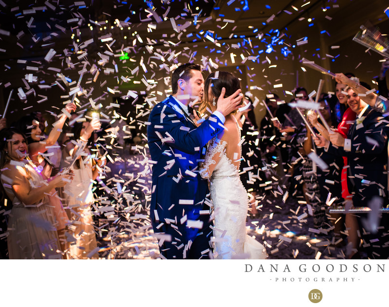 Amelia Island Wedding at Ritz Carlton with Confetti