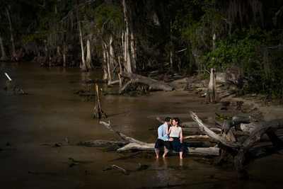 Alpine Groves Park Engagement Session in Jacksonville