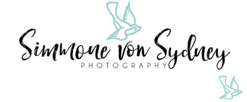 Simmone von Sydney Photography Logo