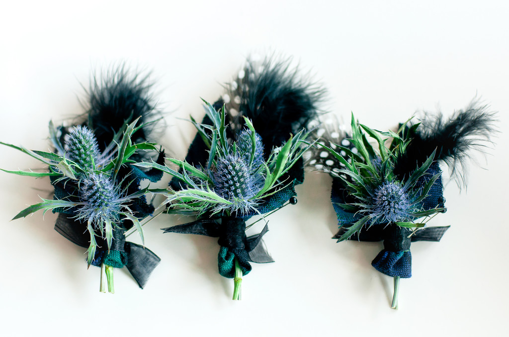 Boutonnières for South Jersey Wedding