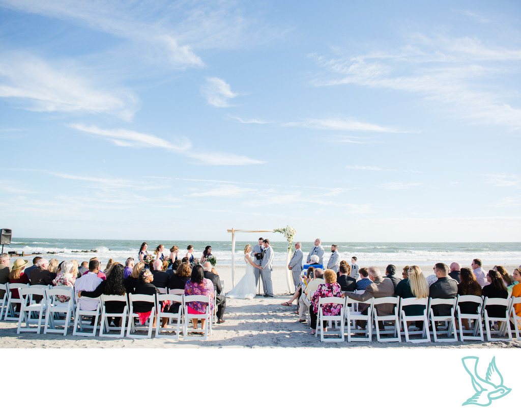 Beach Ceremony in South Jersey