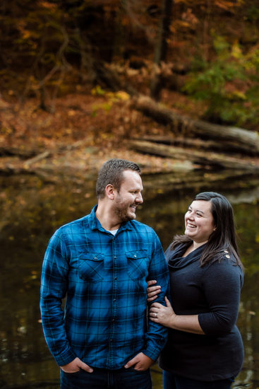Wissahickon Valley Park Engagement Session