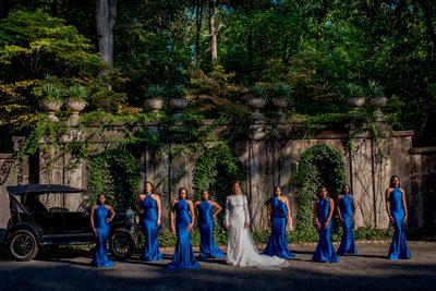 Wedding at Swan Coach House Atlanta