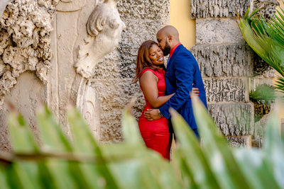 vizcaya Miami Engagement Session
