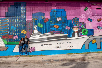Wynwood Miami Fun Engagement Photographers