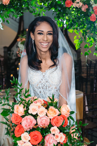 african american dallas bridal session