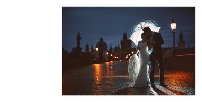 Dramatic, Cinematic & Romantic pre weddings Prague