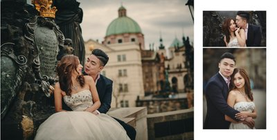 Charles Bridge portraits