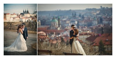 Tina & Mike Prague pre wedding