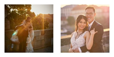 portraits of the bride & groom