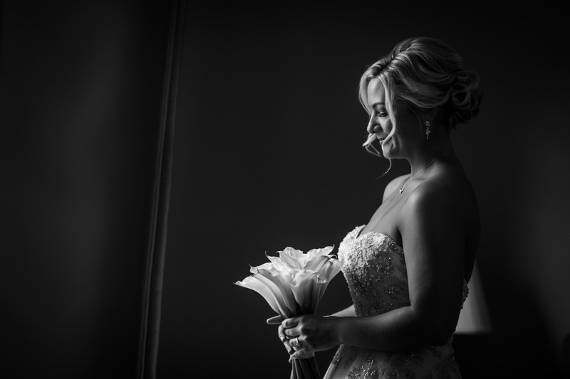 Bride Getting Ready At Her Chester County Home
