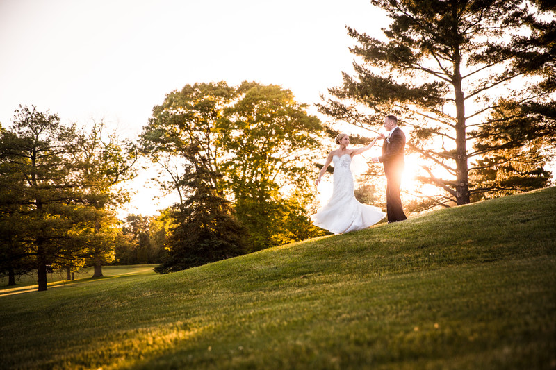 Center Square Golf Club Wedding Photos