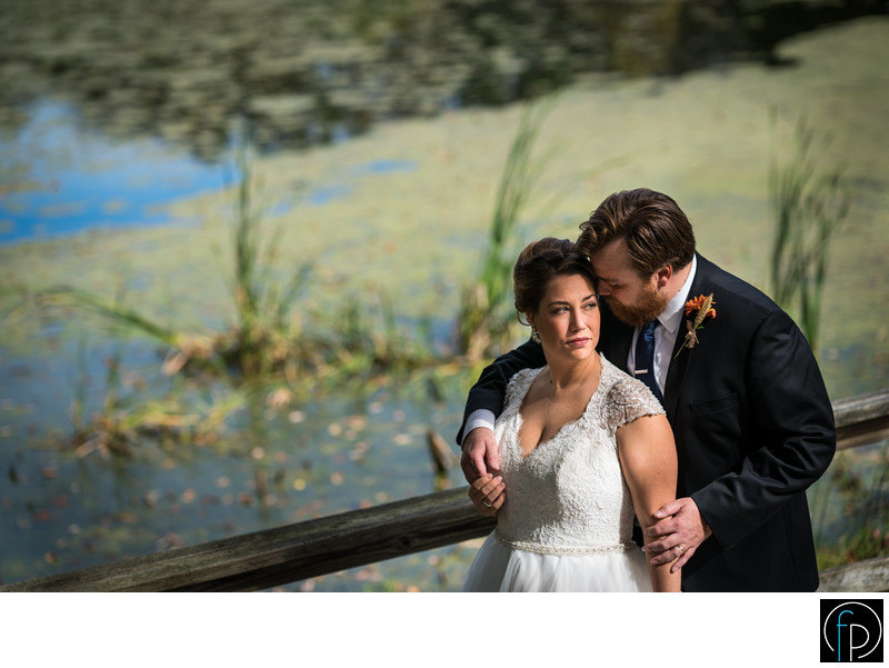 Springton Manor Farm Wedding Portrait