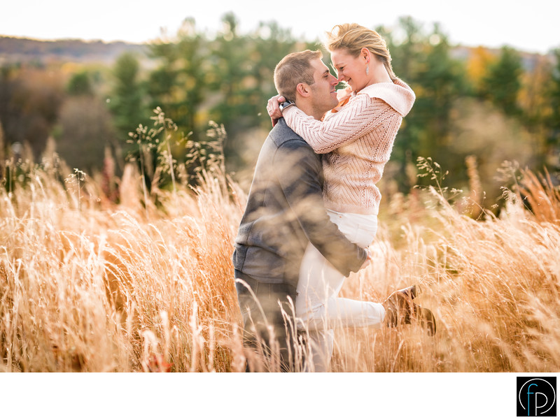 Engagement Session At Valley Forge Park Arch