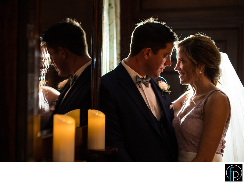 Romantic Portrait At An Appleford Estate Wedding