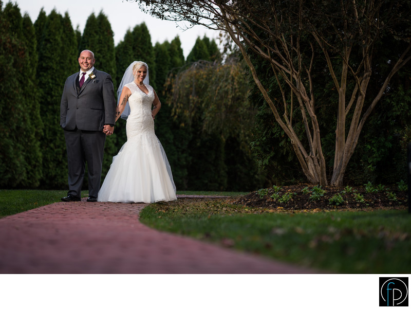 Wedding Portrait At The Farmhouse in Wilmington DE