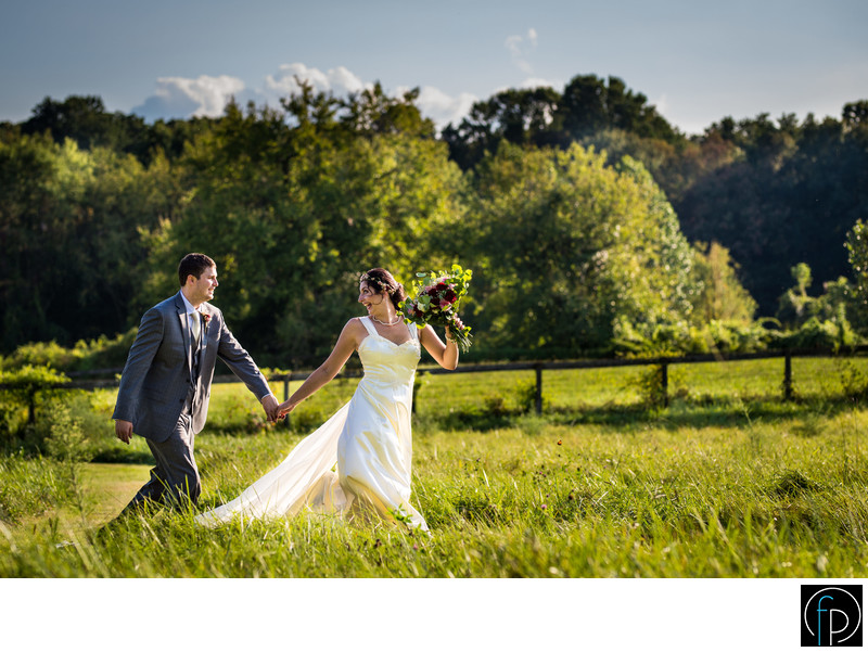 Playful Backyard Wedding In Chester County Pennsylvania