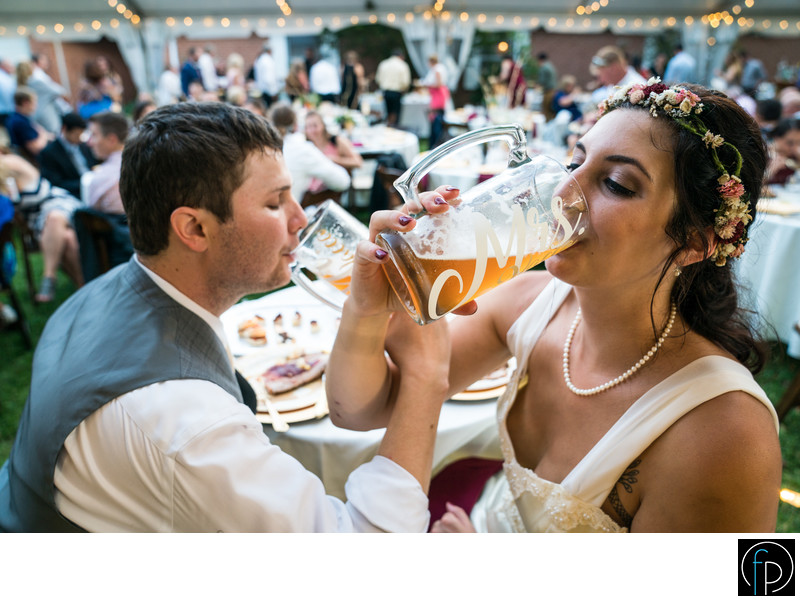 Fun Backyard Wedding in Chester County Pennsylvania