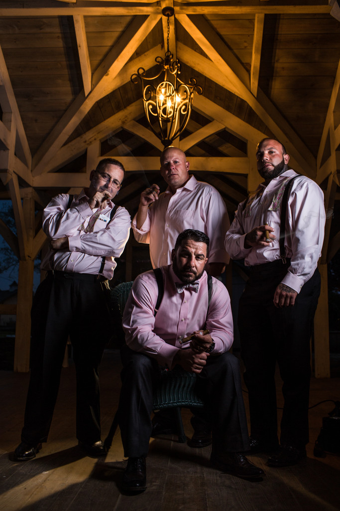 Dramatic Groom Portrait At A Delaware Wedding Venue