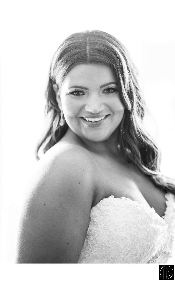 Beautiful Bridal Portrait In The Old Mill Bridal Suite