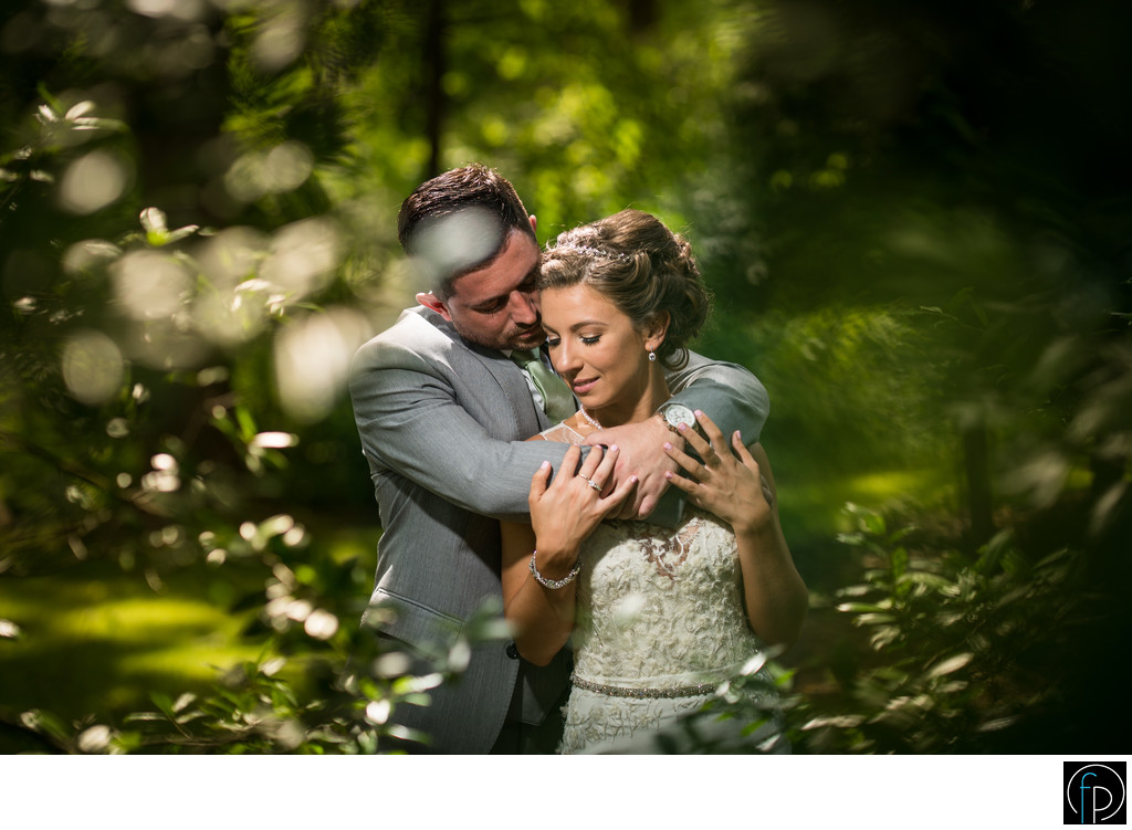Romantic Wedding Photo At Anthony Wayne House In Paoli