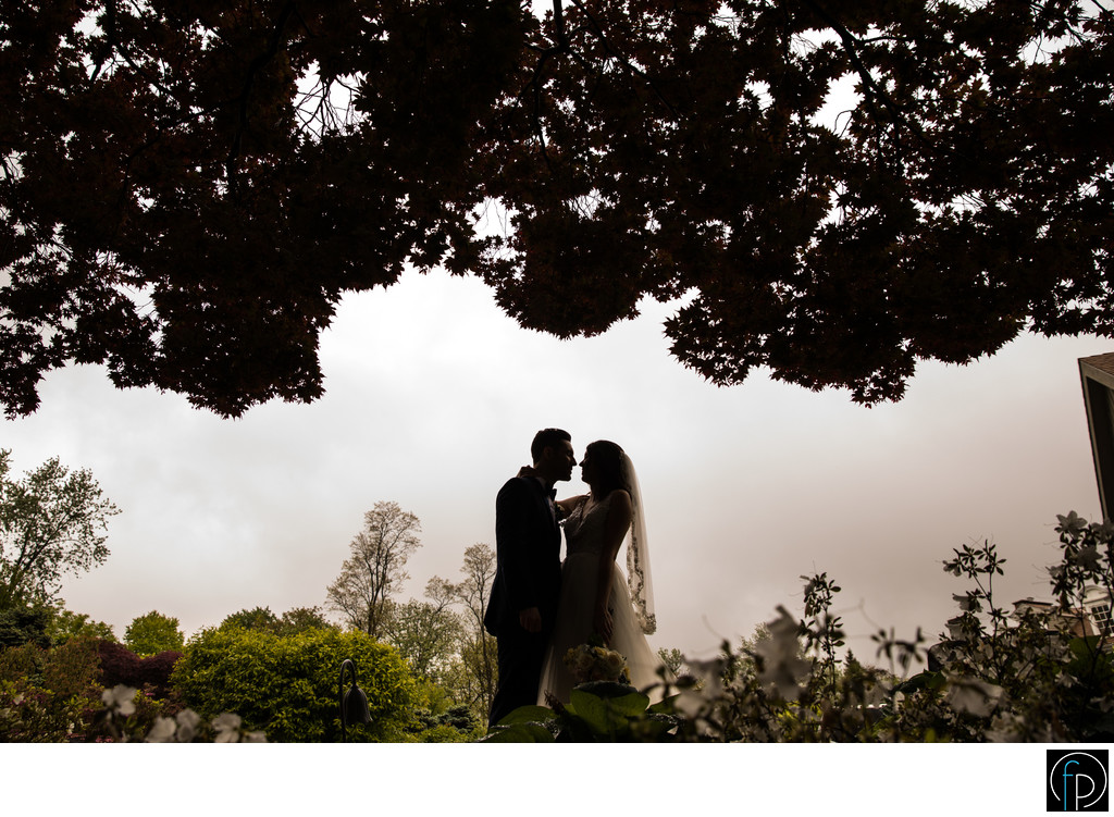 Stormy Portrait At A Downingtown Country Club Wedding