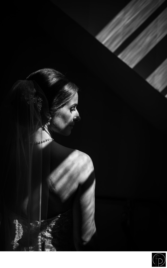 Portrait Of The Bride At Philander Knox Estate Wedding