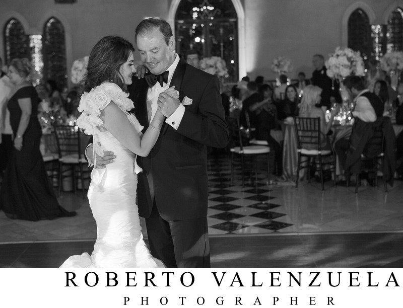 The Grand Del Mar Wedding Father Daughter Dance