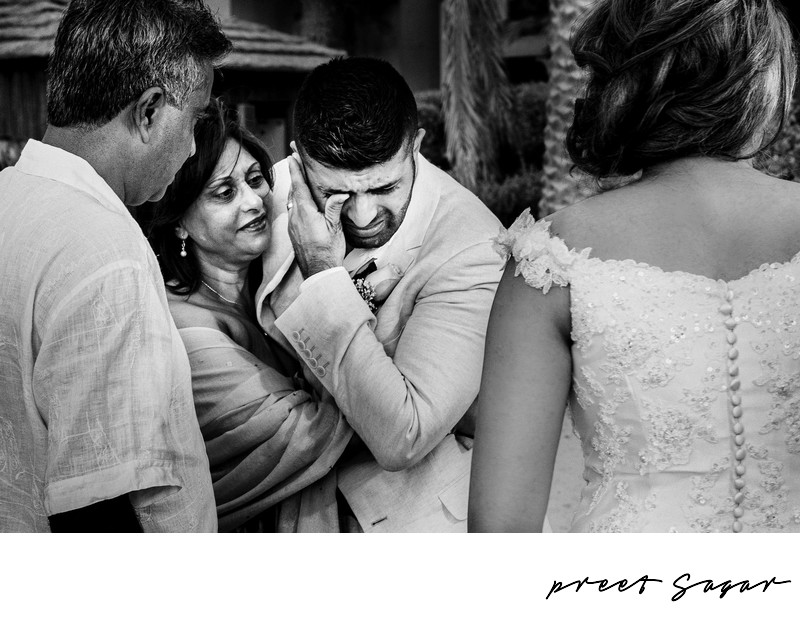 Candid Beach Wedding Photographer at Al Qasr in Dubai