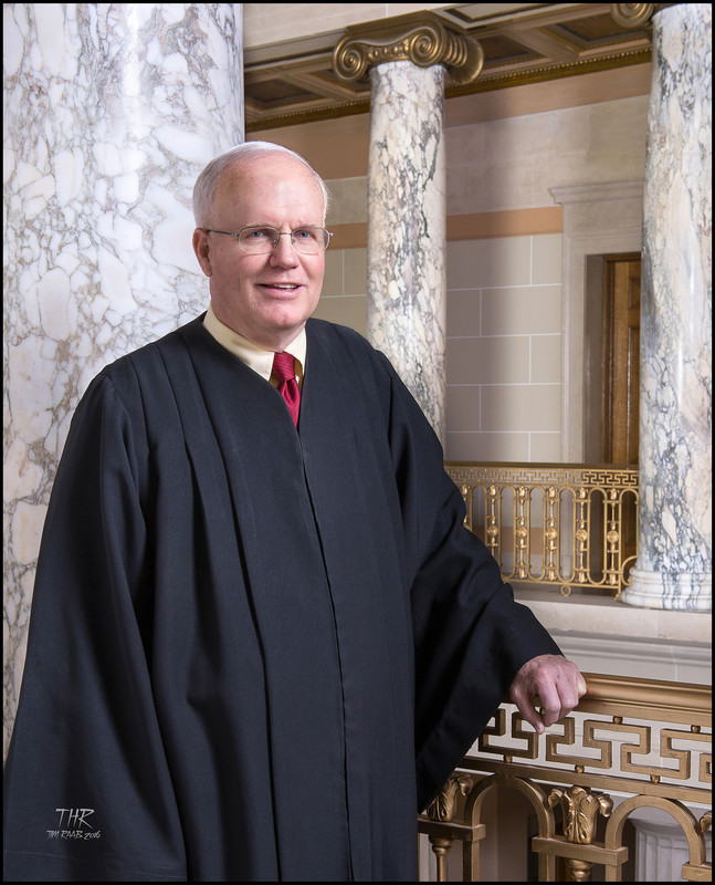 Judge Portrait Photographer Albany NY RAAB Hon Wm McNamara
