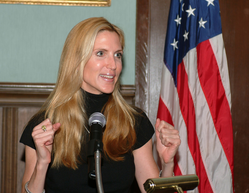 Ann Coulter talks politics in Albany, NY