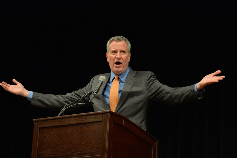 Bill de Blasio, NYC mayor