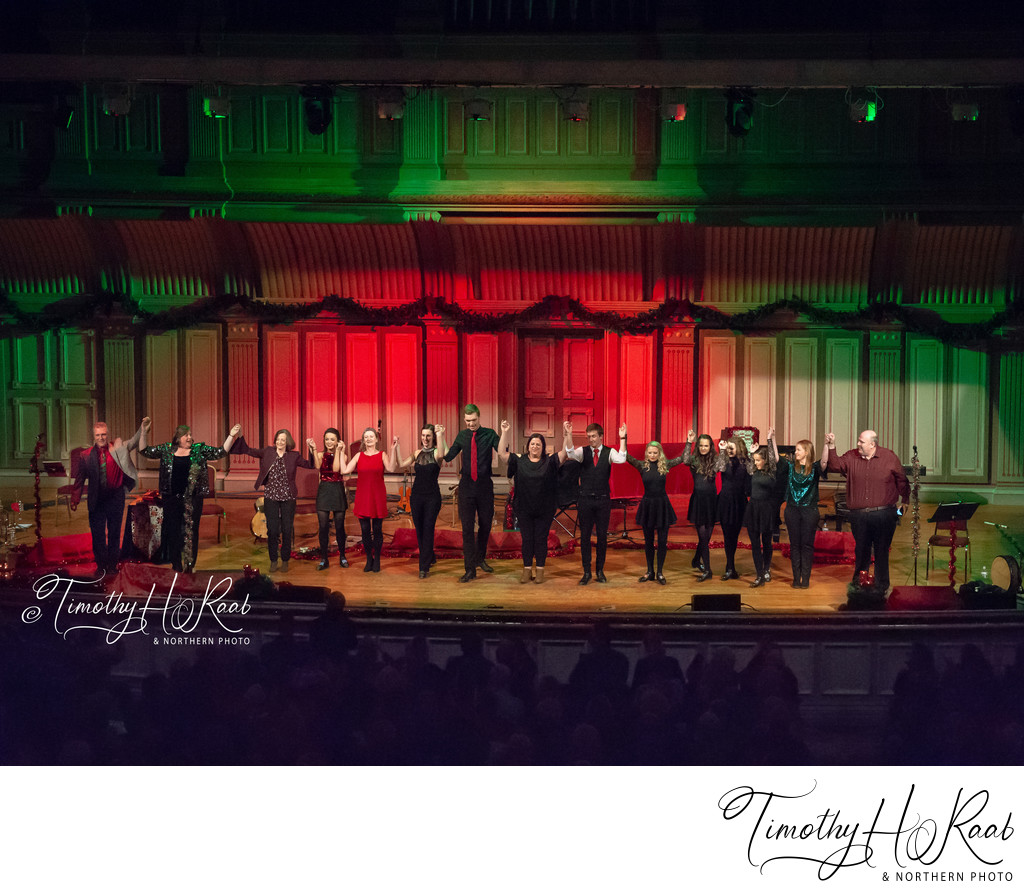 Cherish The Ladies in concert at the Troy Music Hall. Dec 18, 2018