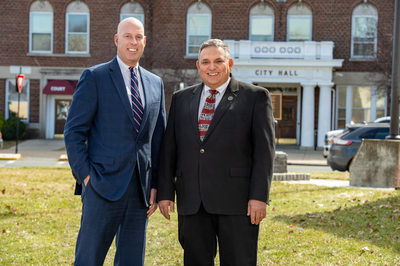 Peter Torncello, Councilman, and Charles V. Patricelli, Mayor, Watervliet