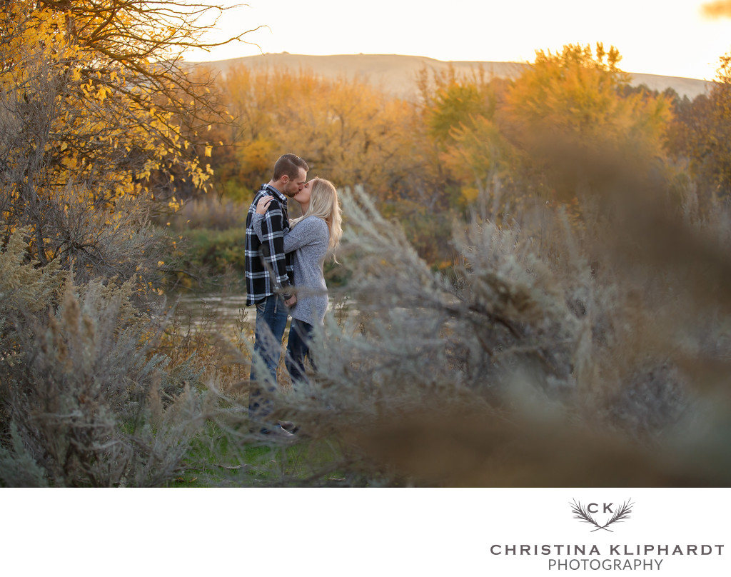 Engagement Session Fall Kennewick, Wa Christina Kliphardt Photography