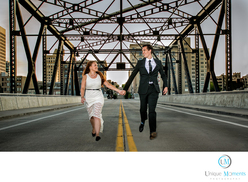 Tacoma Wedding Photographer Murray Morgan Bridge