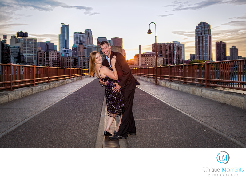 Gig Harbor Wedding Photographer at Stone Arch Bridge MN
