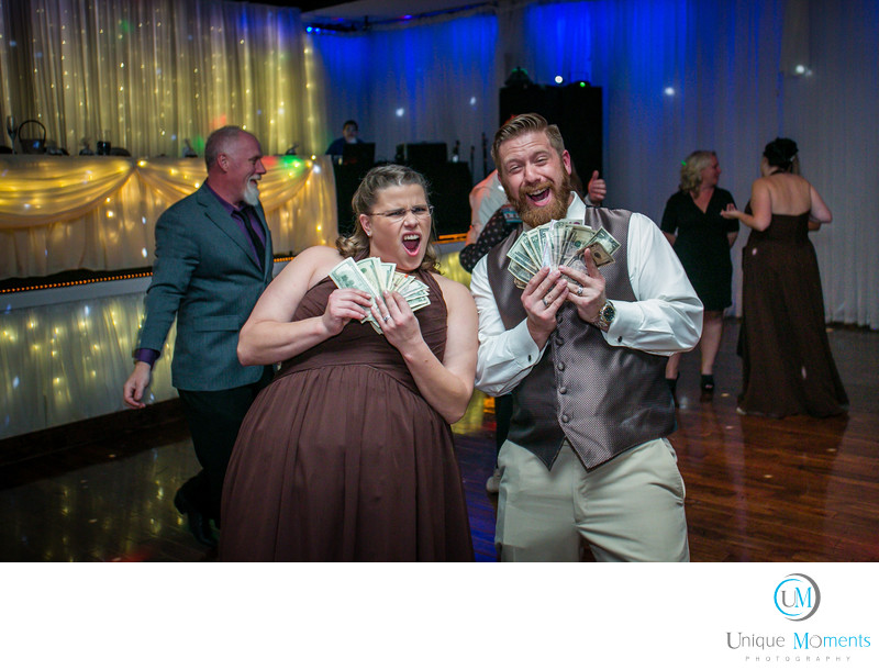 Tacoma Wedding Photographer Money Dance Pictures