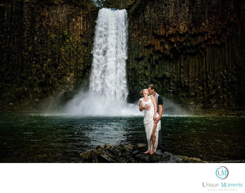 Gig Harbor Wedding Photographer Abiqua Falls Oregon