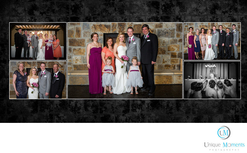 Gig Harbor Wedding Album sample spread 16 Amy and Eric