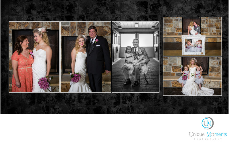 Gig Harbor wedding album sample 14