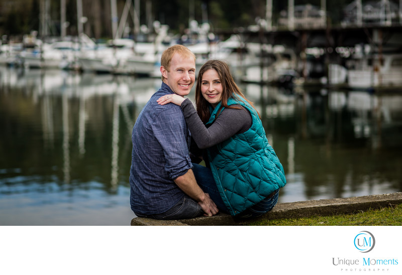 Tacoma Wedding Photographer Gig Harbor Engagement Session