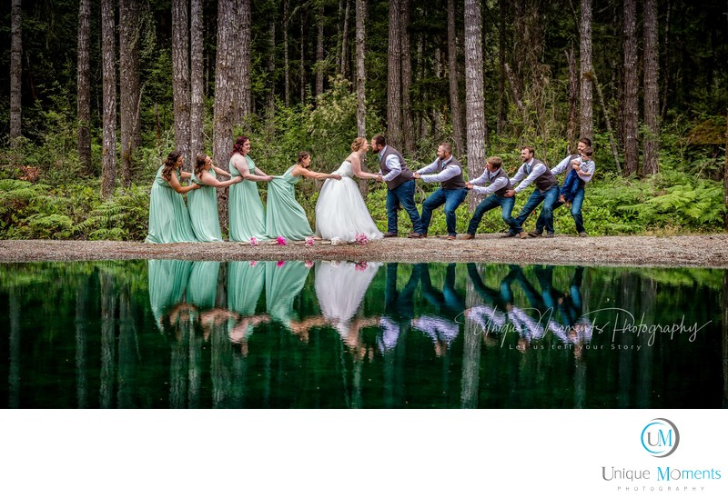 Gig Harbor Backyard Wedding 98335