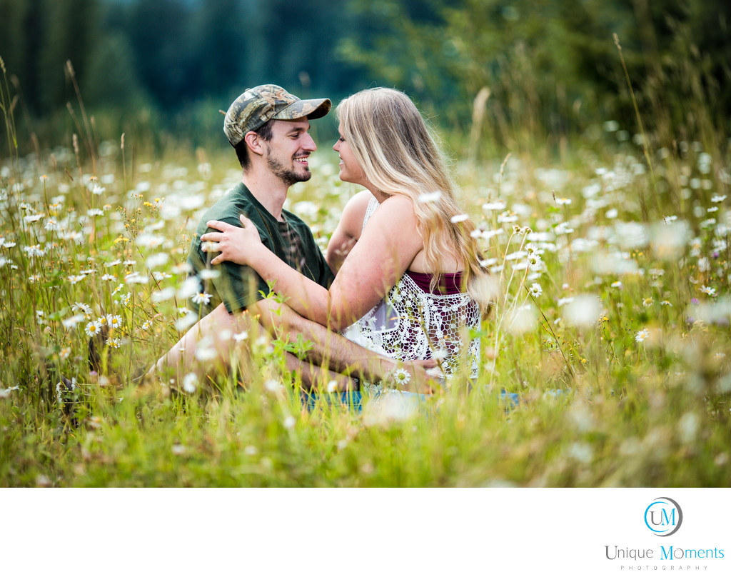 Best Wedding Photographer Gig Harbor Engagement Picture