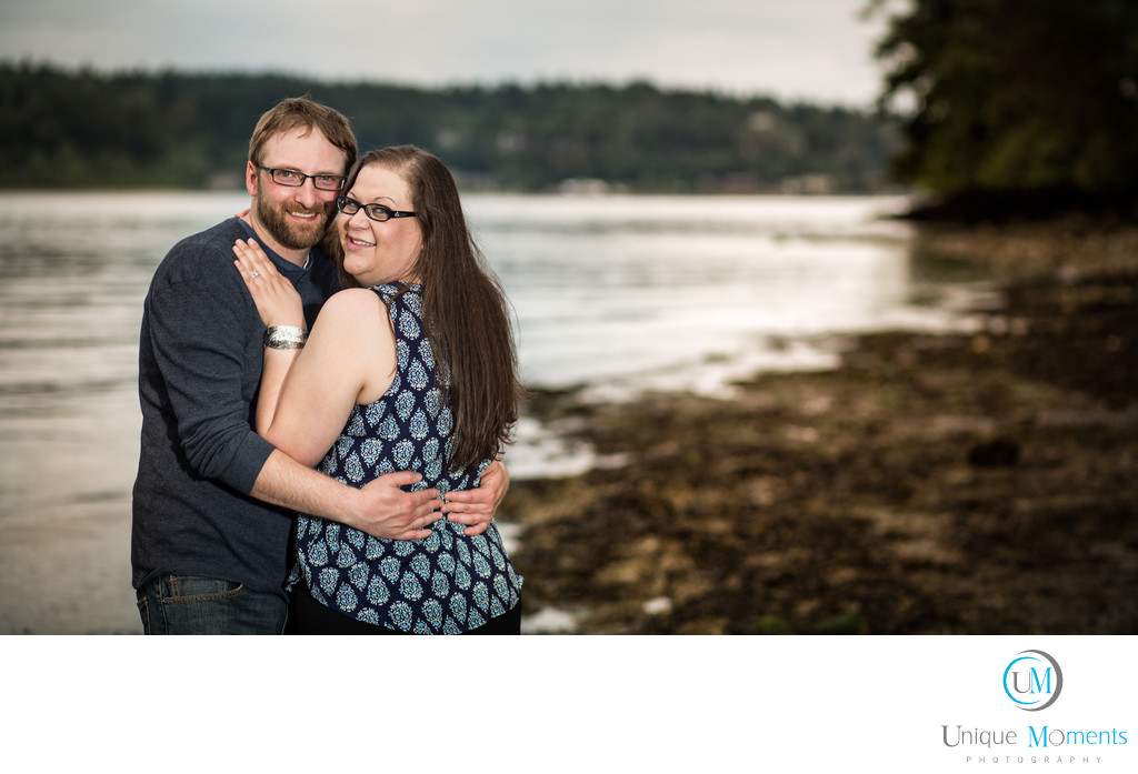 Manchester State Park Engagement Session Port Orchard
