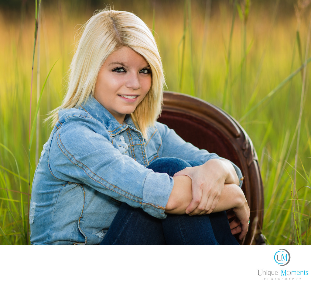 Gig Harbor High School Senior Portrait McCormick Park